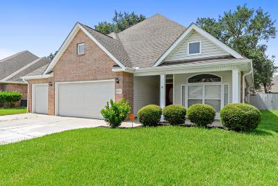 Ocean Springs Single Family Home For Sale: 7832 Rue Morgan