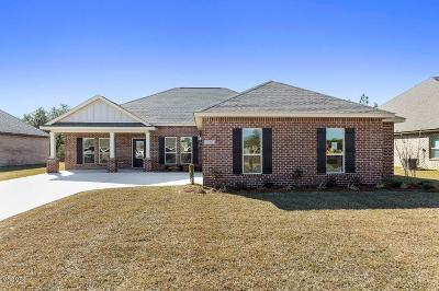 Ocean Springs Single Family Home For Sale: 6429 Chickory Way