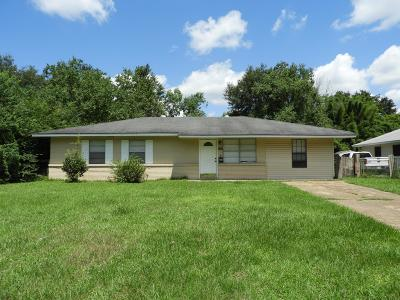 Gulfport Single Family Home For Sale: 306 Kimberly Dr