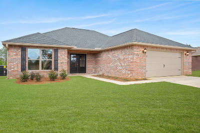 Saucier Single Family Home For Sale: 20997 W Wortham Rd