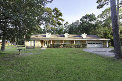 Bay St. Louis Single Family Home For Sale: 9315 Lower Bay Rd