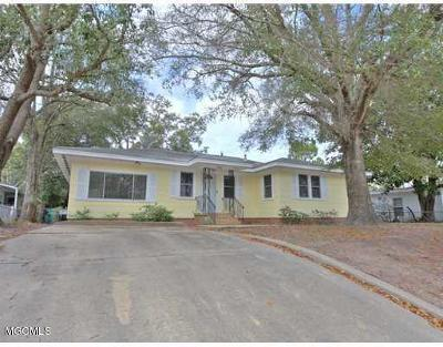 Biloxi Single Family Home For Sale: 2534 Wilson Rd