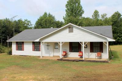 Noxapater MS Single Family Home Sold: $79,500