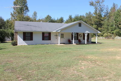 Noxapater MS Single Family Home Sold: $89,500