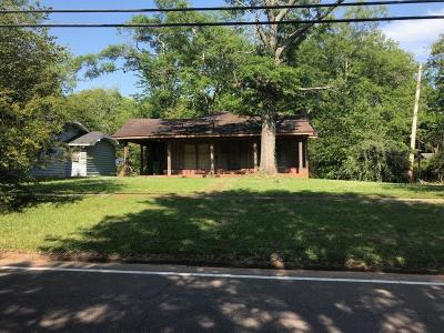Louisville MS Single Family Home For Sale: $69,500