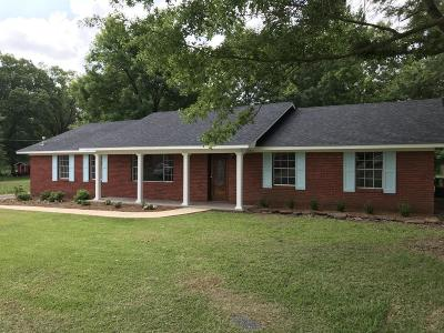 Louisville MS Single Family Home For Sale: $123,000