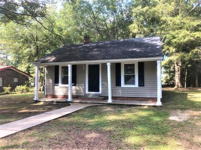 West Point MS Single Family Home For Sale: $55,000
