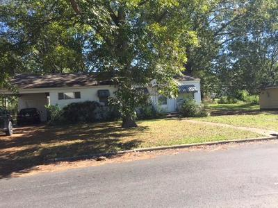 West Point MS Single Family Home For Sale: $52,500