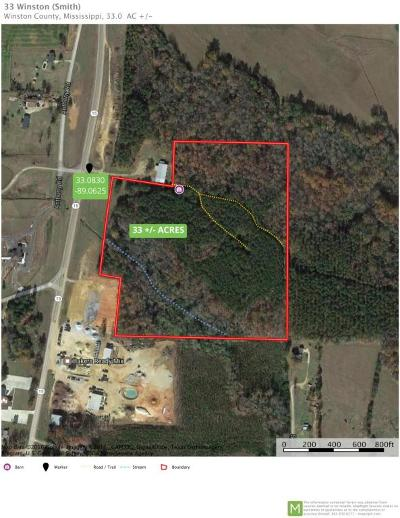 Winston County Residential Lots & Land For Sale: Ms-15