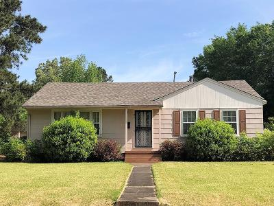 West Point MS Single Family Home For Sale: $69,500