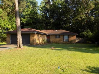 Hattiesburg MS Single Family Home Sold: $109,900