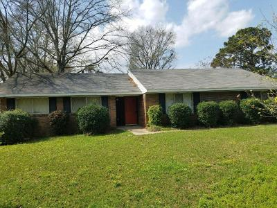 Hattiesburg Single Family Home For Sale: 1001 SOUTH 28th Ave.