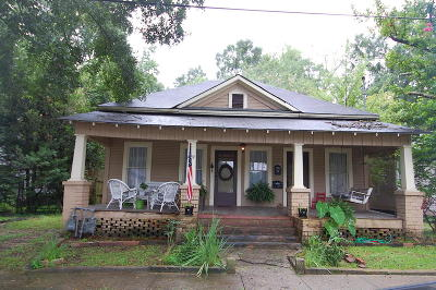 Hattiesburg MS Single Family Home For Sale: $72,500