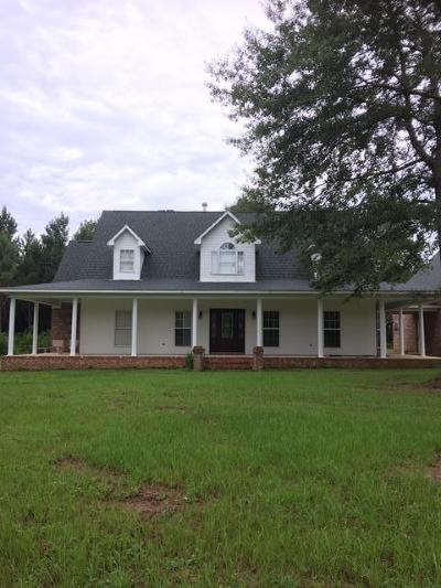 Jefferson Davis County Single Family Home For Sale: 7241 Ms-35