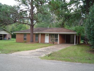 Hattiesburg MS Single Family Home For Sale: $79,000