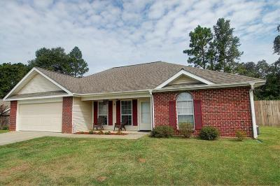Purvis Single Family Home For Sale: 6 Caley Cir.