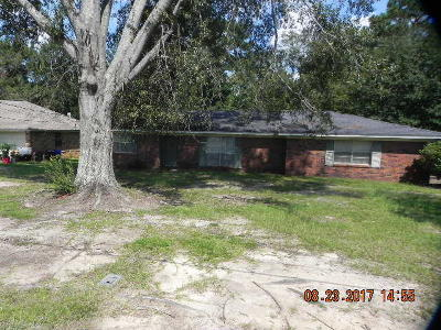 Hattiesburg MS Single Family Home For Sale: $58,000