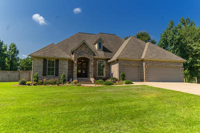 Hattiesburg MS Single Family Home For Sale: $349,000