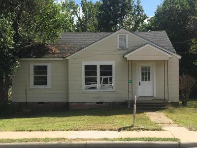 Hattiesburg MS Single Family Home For Sale: $68,000