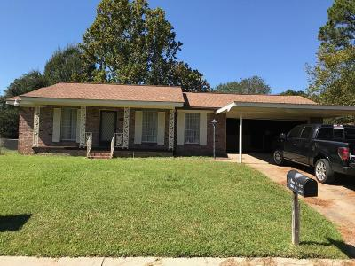 Hattiesburg MS Single Family Home For Sale: $129,900