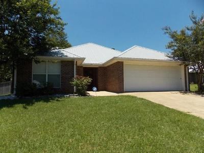 Hattiesburg MS Single Family Home For Sale: $156,500