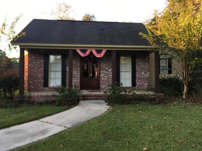 Hattiesburg MS Single Family Home For Sale: $150,000