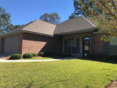 Seminary, Sumrall Single Family Home For Sale: 39 Tuscan Ln.