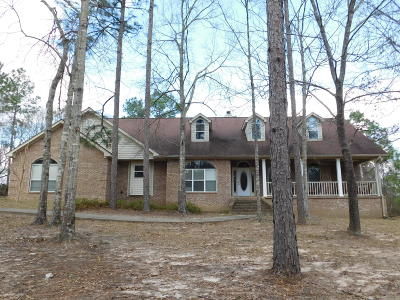 Purvis Single Family Home For Sale: 212 Oscar Bond Rd.
