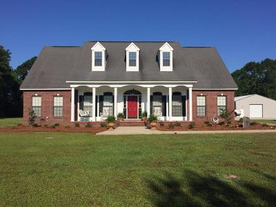 Seminary, Sumrall Single Family Home For Sale: 53 Lott Ln.