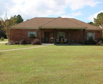 Seminary, Sumrall Single Family Home For Sale: 85 Crossland Rd.