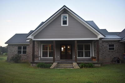 Sumrall Single Family Home For Sale: 151 J D Broome