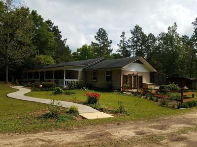 Petal, Purvis Single Family Home For Sale: 9 Bullock Rd.