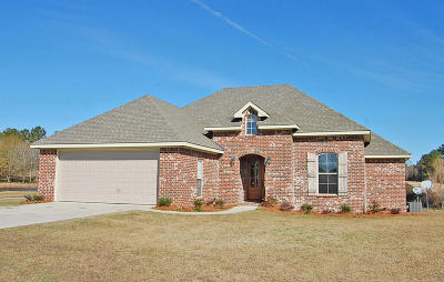 Seminary, Sumrall Single Family Home For Sale: 19 Chastain Ln.