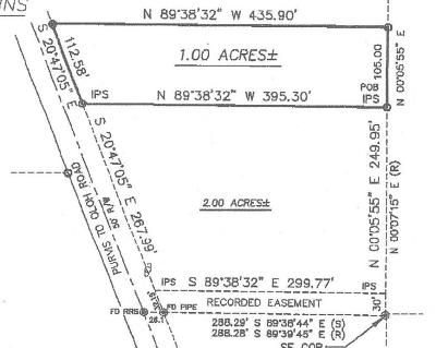 Seminary, Sumrall Residential Lots & Land For Sale: Puvis Oloh Rd.