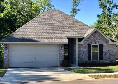 Hattiesburg Single Family Home For Sale: 36 Coastal Oak