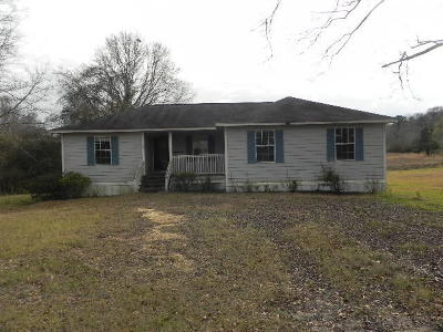Jefferson Davis County Single Family Home For Sale: 88 Hall Ln.