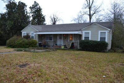 Hattiesburg MS Single Family Home For Sale: $119,900