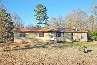 Hattiesburg MS Single Family Home For Sale: $79,500