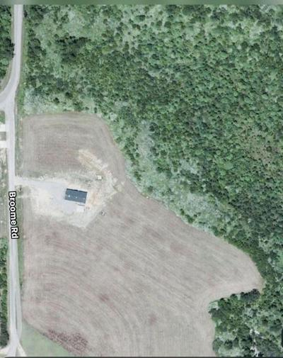 Seminary, Sumrall Residential Lots & Land For Sale: Broome Road