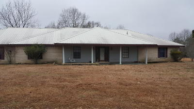 Jefferson Davis County Single Family Home For Sale: 98 McLeod Ln.