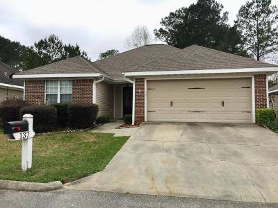 Hattiesburg MS Single Family Home For Sale: $131,900