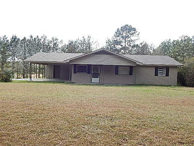 Seminary, Sumrall Single Family Home For Sale: 201 W M Johnson Rd.
