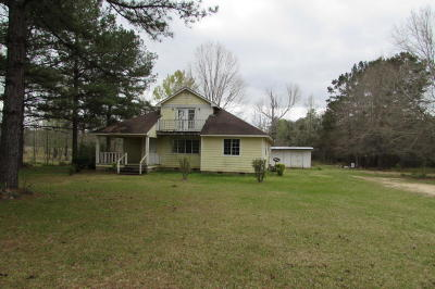 Jefferson Davis County Single Family Home For Sale: 256 Storey Parkman Rd.