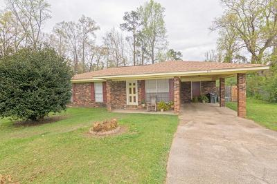 Hattiesburg Single Family Home For Sale: 133 Crescent Dr.