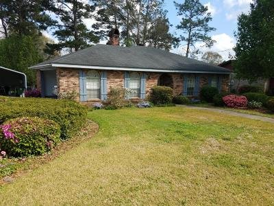 Hattiesburg MS Single Family Home For Sale: $115,000