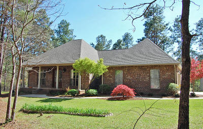 Petal Single Family Home For Sale: 659 Eastabuchie Rd.