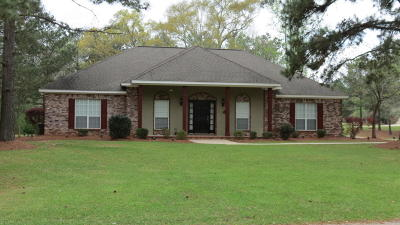 Seminary, Sumrall Single Family Home For Sale: 3 Winding Brook