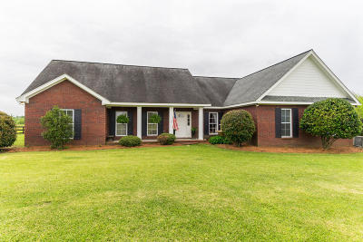 Seminary, Sumrall Single Family Home For Sale: 156 Homer Folkes Rd.