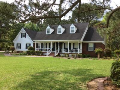 Hattiesburg Single Family Home For Sale: 1265 Eatonville Rd.