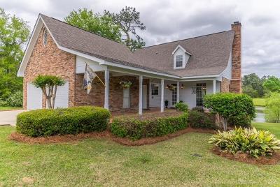 Hattiesburg Single Family Home For Sale: 8 Twin Lake